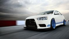 Ryan Gates EVO X 311 RS. That is some awesome styling.