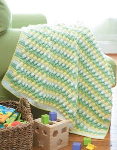 Picture of Tunisian Crochet Baby Blankets