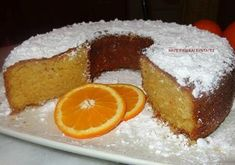 Greek Sweets, Greek Desserts, Greek Recipes, My Recipes, Cake Recipes, Dessert Recipes, Cooking Recipes, Recipies, Flan