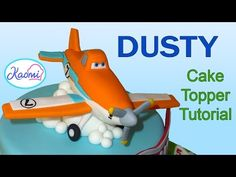How to make Dusty from Planes (Cake Topper) / Cómo hacer a Dusty para tortas - YouTube