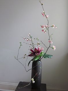 Orchids and Ikebana: March 2012