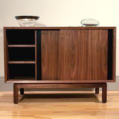 Walnut Credenza by Volk Furniture