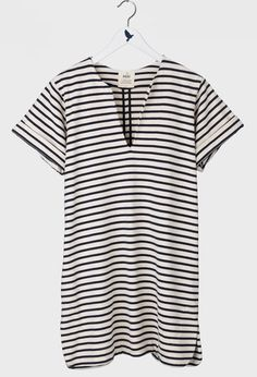 The MiH Jeans Vintage Tunic in Vintage Stripe.