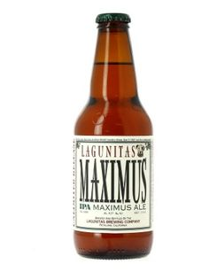 Lagunitas Maximus- one of my favorites.