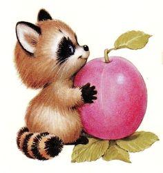 Printable - Ruth Morehead Cute Animal Illustration, Cute Animal Drawings, Animal Sketches, Cute Drawings, Cartoon Kunst, Cartoon Art, Cute Animal Clipart, Happy Paintings, Jolie Photo