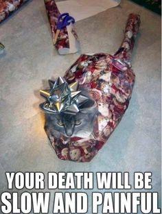Angry Christmas Kitty
