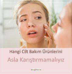 Hangi Cilt Bakım Ürünlerini Asla Karıştırmamalıyız Skin Mask, Cosmetics, Face, Model, Beauty, Pandora, Aspirin, Ideas, Lilac