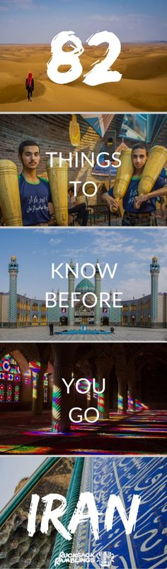 Before you travel Iran, make sure you read these essential tips. Iranian visas, Iranian food, is Iran safe, Iranian culture and much more. via @rucksackramblin