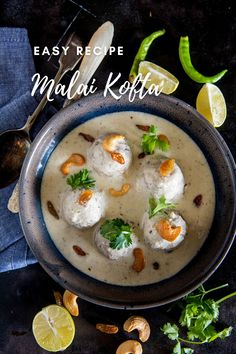 Tasty Vegetarian Recipes, Spicy Recipes, Curry Recipes, Kofta Recipe Vegetarian, Vegetarian Curry, Kitchen Recipes, Cooking Recipes, Cooking Food, Paneer Dishes