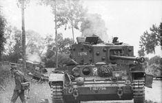 Villers-Bocage - waffen SS troops near the Command Cromwell tank knocked out just behind Pt Battle of Normandy Tours Cromwell Tank, Battle Of Normandy, Panzer Iv, Military Armor, Armored Fighting Vehicle, Military Pictures, Ww2 Tanks, World Of Tanks, Battle Tank