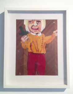 Chantal Joffe (1999) Senza titolo olio su tavola cm 29 x 20,5