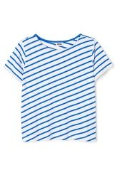 <p>The Era Stripe Tee has a wide fit, arelaxedround neckand short, boxy sleeves. It is made of cotton jersey and has a diagonal striped print.</p><p>- Size Small measures 100 cm in chest circumference, 59 cm in front length and 17,50 cm in sleeve length.</p>