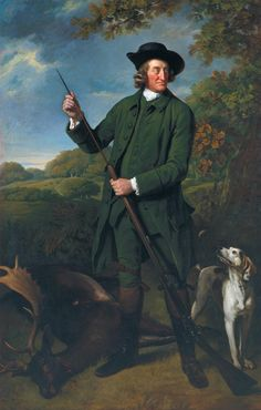 Sir Nathaniel Dance-Holland 'Thomas Nuthall with a Dog and Gun', date not known