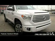 Isn't it time you got rid of that old junker and got behind the wheel of this outstanding 2015 Toyota Tundra Platinum 5.7L V8 w/FFV. Blow out pricing!!!