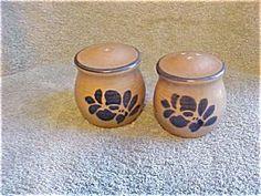 Pfaltzgraff Folk Art Stoneware Salt & Pepper Shaker Set by Pfaltzgraff. $9.50
