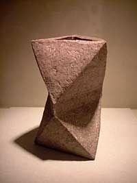 KAMODA SHOJI (Japanese: 1933 -1983) - Angular Jar (1969)