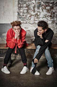 Bobby looks like the bad boyfriend and Mino looks like the proud girlfriend. Reebok Classic Club C, Bad Boyfriend, Mino Winner, Best Duos, Song Minho, Mobb, Hip Hop And R&b, Yg Entertainment, Korean Beauty