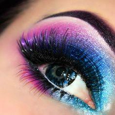 Eminence Herbal Eye Make-Up Remover, Ounce - Cute Makeup Guide Rave Makeup, Makeup Geek, Makeup Tips, Beauty Makeup, Old Age Makeup, Galaxy Makeup, Make Up Inspiration, Colorful Eye Makeup, Fantasy Makeup