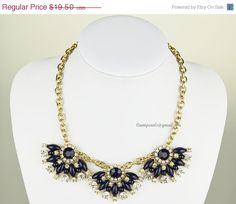 Bubble Beaded Necklace Beaded Fan Crystals Wedding by Camipearls, $17.55