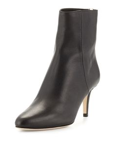 4355e28bd7f7 Jimmy Choo Shoes at Neiman Marcus. Black Ankle BootsMid Heel ...