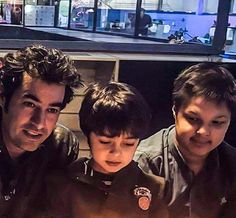 Shahab Hosseini and his sons Read more about the Iranian actor via this link: www.ifilmtv.com/English/Artist/ArtistIn/2215
