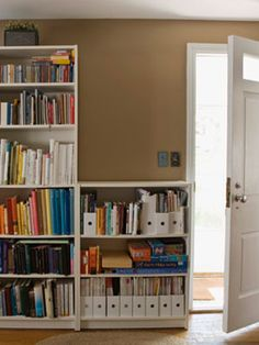 Eliminate clutter hot spots.  Check out 8 Secrets of Personal Organizers.