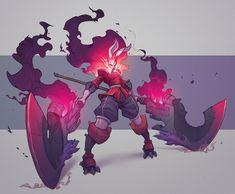 drawings of sketches Fantasy Character Design, Character Design Inspiration, Character Concept, Character Art, Fantasy Characters, Anime Characters, Weapon Concept Art, Monster Design, Art Et Illustration