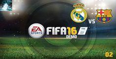 "Let's Play FIFA 16 Demo #02 - ""Real Madrid vs FC Barcelona"" [XBox360 Gam..."