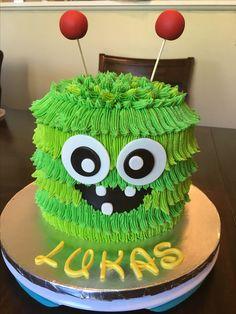 Monster cake birthday fondant buttercream. & Camping cake birthday cake buttercream fondant tent fire pit ...
