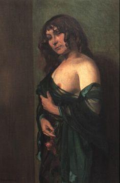 Nu à la draperie verte - Félix Vallotton Tattoo Inspiration, Painters, French, Artwork, Design, Work Of Art, French People, Auguste Rodin Artwork