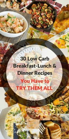 30 Low Carb Diet Recipes You Have to Try