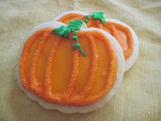 Pumpkin Cookies (1 dozen) by storybookbakery for $30.00