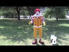▶ Ronald McDonald Accepts ALS Ice Bucket Challenge - YouTube