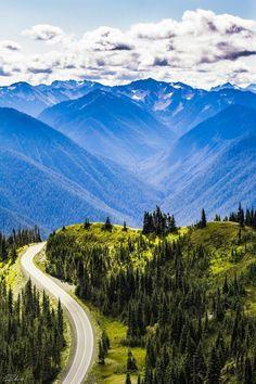 Olympic National Park and the Hoh Rainforest, Washington