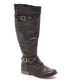 Another great find on #zulily! Black Cindy 2 Boot #zulilyfinds