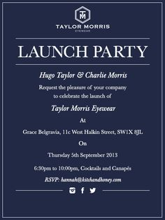 Launch Party Invitation and get inspiration to create nice invitation ideas