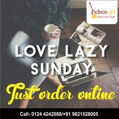 Make your lazy Sundays all the more perfect. Gorge on your favorite food while you sit back & relax. Order Online!  #adivasgrill #lazysundays #sundaysmorning #foodfood #nomnomnom