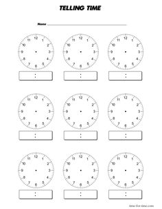 Worksheets Blank Clock Face Worksheet Printable digital clocks worksheets and clock on pinterest inspiring blank printable template images face bla