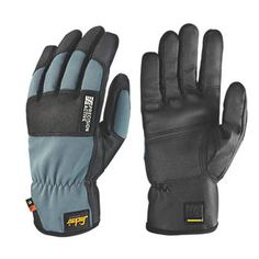 Snickers Precision Active Performance Gloves Black/Grey Large | Impact | Screwfix.com