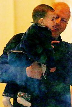 bruce willis baby