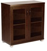 Buy Two Door Storage Cabinet In Walnut Finish by Mintwud by Mintwud online from Pepperfry. ✓Exclusive Offers ✓Free Shipping ✓EMI Available
