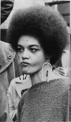 Kathleen Cleaver is one of the central figures in Black Panther history. She was the first communications secretary for the organization and is currently a law professor at Emory University. She also helped found the Human Rights Research Fund.