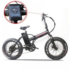 Folding Mountain Bike, Electric Mountain Bike, Electric Bicycle, Electric Beach, Natural Disasters, Fat, Snow, The Beach