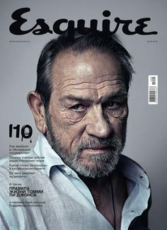 Esquire (Russia) with Tommy Lee Jones on the cover