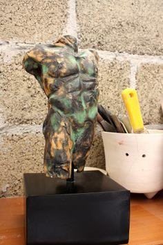 #torso #materiales #ceramica #arte #trestierras