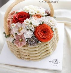 buttercream flowercake. Made by G.G.CAKRAFT.