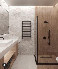 Bathroom Styling Eth Shy Who Else Is Loving This Stylish Bathroom Eco Bathroom, Wood Floor Bathroom, Bathroom Windows, Bathroom Trends, Rustic Bathrooms, Bathroom Colors, Bathroom Flooring, Modern Bathroom, Bathroom Ideas
