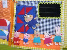 ... Пеппы и кармашки. В детском садике Пеппа видит своих друзей. Они очень весело проводят время. Очень любят одевать всевозможные костюмы: Это я взяла уже из книжки, которую мне прислали. Только костюм Пеппы ...
