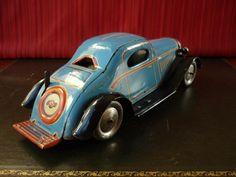 Scarce Marx Toys Tin Wind-up Streamline Limousine  #LouisMarxCo