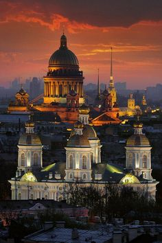 Kazan Cathedral (background), Saint Petersburg, Russia by Alexander Petrosyan